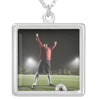 USA, California, Ladera Ranch, Football player 2 Necklaces