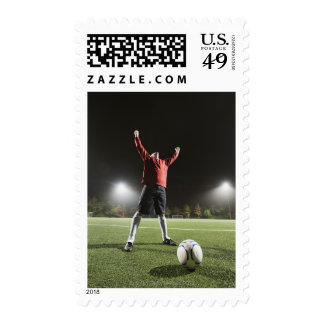 USA, California, Ladera Ranch, Football player 2 Stamps