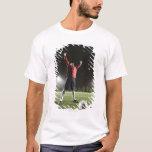 USA, California, Ladera Ranch, Football player 2 T-Shirt