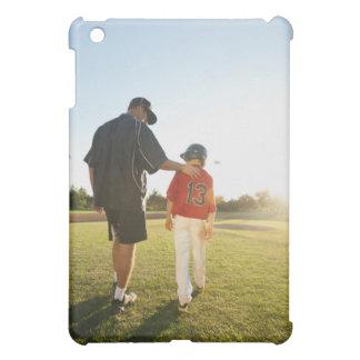 USA, California, Ladera Ranch, man and boy iPad Mini Cover