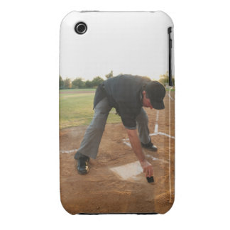 USA, California, Ladera Ranch, man drawing in iPhone 3 Case-Mate Case