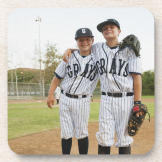 USA, California, Ladera Ranch, two boys (10-11) Beverage Coaster
