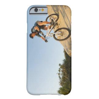 USA, California, Laguna Beach, Man cycling down Barely There iPhone 6 Case