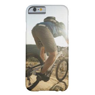 USA, California, Laguna Beach, Mountain biker Barely There iPhone 6 Case