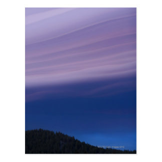 USA, California, Lake Tahoe, Landscape with Postcard