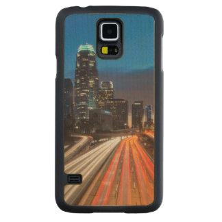 USA, California, Los Angeles, 110 Freeway 2 Carved® Maple Galaxy S5 Slim Case