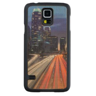 USA, California, Los Angeles, 110 Freeway Carved Maple Galaxy S5 Slim Case