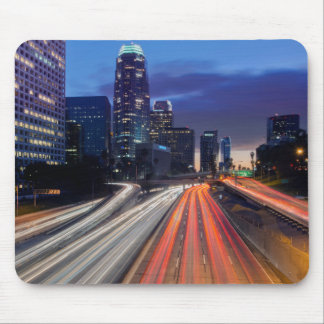 USA, California, Los Angeles, 110 Freeway Mouse Pad