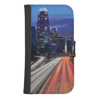 USA, California, Los Angeles, 110 Freeway Galaxy S4 Wallet Case
