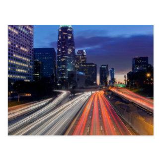 USA, California, Los Angeles, 110 Freeway Postcard