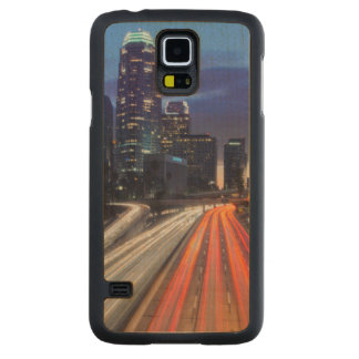 USA, California, Los Angeles, 110 Freeway Carved® Maple Galaxy S5 Slim Case