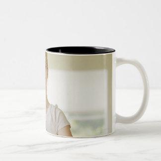 USA, California, Los Angeles, Beverly Hills, Two-Tone Coffee Mug