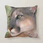 USA, California, Los Angeles County. Portrait of Throw Pillow