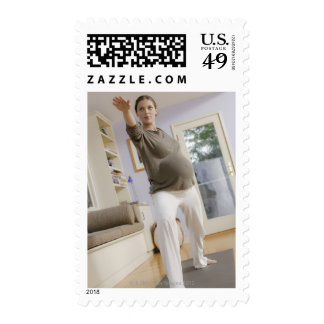 USA, California, Los Angeles, expectant mother Stamps