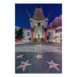 USA, California, Los Angeles, Hollywood Poster