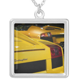 USA, California, Los Angeles: Los Angeles Auto 2 Silver Plated Necklace