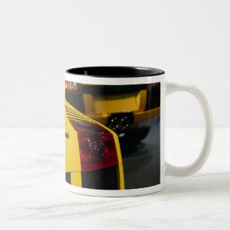 USA, California, Los Angeles: Los Angeles Auto 2 Two-Tone Coffee Mug