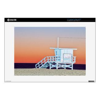 "USA, California, Los Angeles, Santa Monica Beach 15"" Laptop Skin"