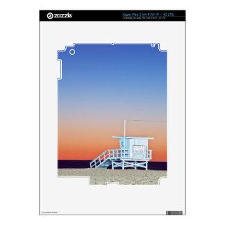 USA, California, Los Angeles, Santa Monica Beach Decal For iPad 3