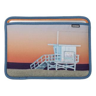 USA, California, Los Angeles, Santa Monica Beach Sleeve For MacBook Air