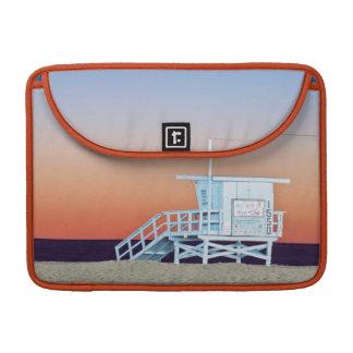 USA, California, Los Angeles, Santa Monica Beach Sleeve For MacBooks
