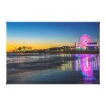 USA, California, Los Angeles, Santa Monica Pier Canvas Print