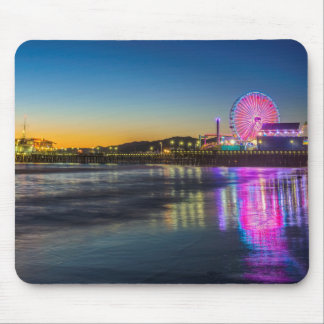 USA, California, Los Angeles, Santa Monica Pier Mouse Pad