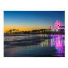 USA, California, Los Angeles, Santa Monica Pier Postcard