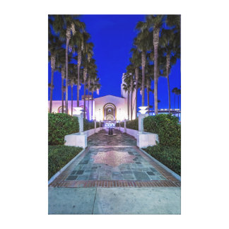 USA, California, Los Angeles, Union Station Canvas Print