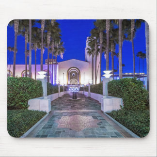 USA, California, Los Angeles, Union Station Mouse Pad