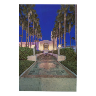 USA, California, Los Angeles, Union Station Wood Wall Decor