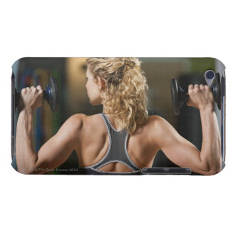 USA, California, Los Angeles, woman exercising Barely There iPod Cover