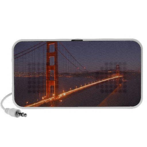 USA, California, Marin. Moonrise above the Travel Speakers
