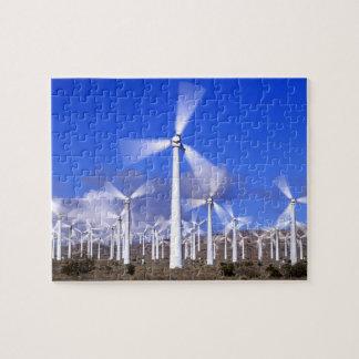 USA, California, Mojave. View of a wind turbine Jigsaw Puzzles