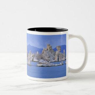 USA, California, Mono Lake Two-Tone Coffee Mug