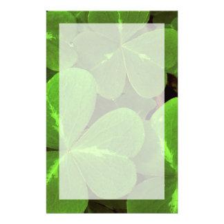 USA, California, Muir Woods. Close-up of clover Stationery