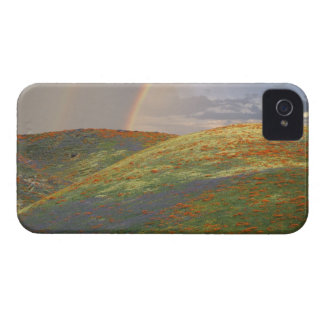 USA, California, near Gorman. Hills with poppies Case-Mate iPhone 4 Case