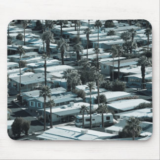 USA, California, Palm Springs. Trailer Park on Mouse Pad