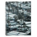 USA, California, Palm Springs. Trailer Park on Notebooks