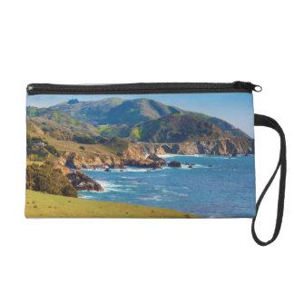 USA, California. Panorama Of Big Sur With Bixby Wristlet
