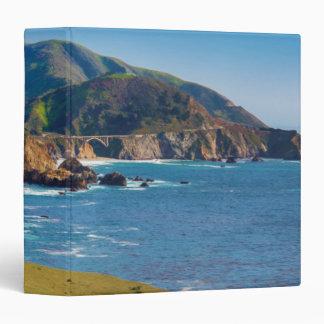 USA, California. Panorama Of Big Sur With Bixby Binder