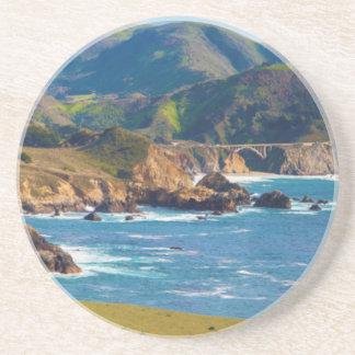 USA, California. Panorama Of Big Sur With Bixby Coaster