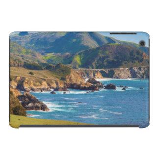 USA, California. Panorama Of Big Sur With Bixby iPad Mini Retina Case