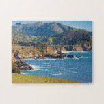 "USA, California. Panorama Of Big Sur With Bixby Jigsaw Puzzle<br><div class=""desc"">Anna Miller / DanitaDelimont.com USA,  North America,  California</div>"