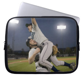 USA, California, San Bernardino, baseball 10 Computer Sleeves