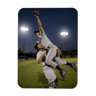 USA, California, San Bernardino, baseball 10 Rectangular Photo Magnet