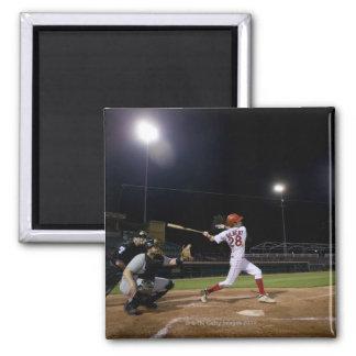 USA, California, San Bernardino, baseball 2 2 Inch Square Magnet