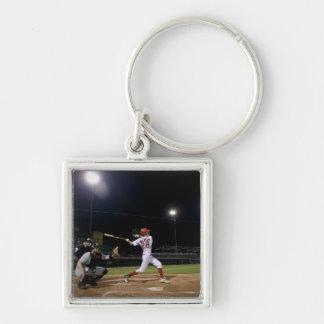 USA, California, San Bernardino, baseball 2 Keychain