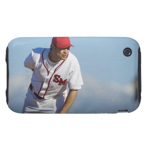 USA, California, San Bernardino, baseball 3 iPhone 3 Tough Cases
