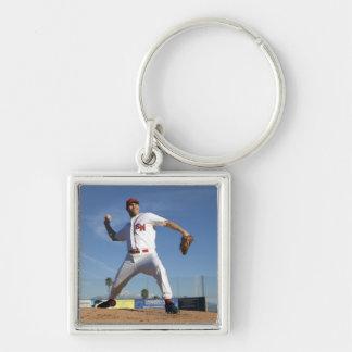 USA, California, San Bernardino, baseball 4 Keychain